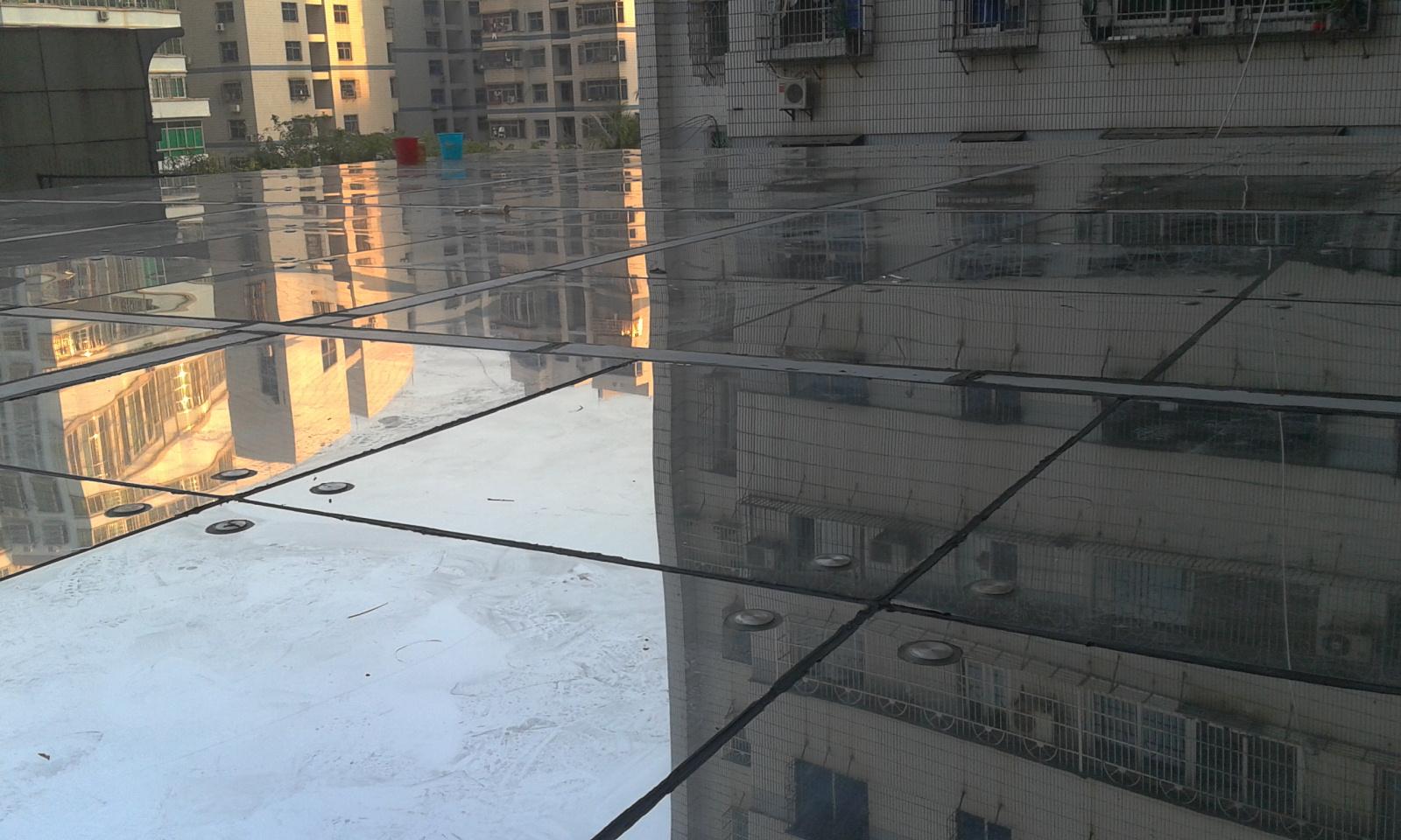 海南隔热膜海口玻璃贴膜省劳动局施工现场
